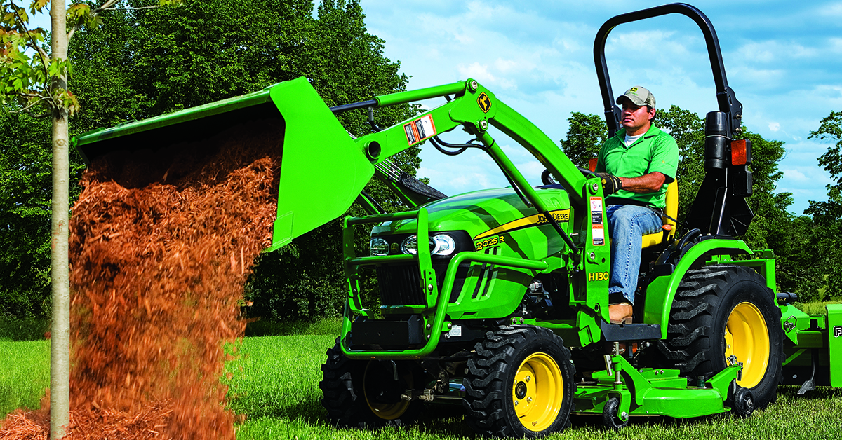 Easy to use Compact Tractor