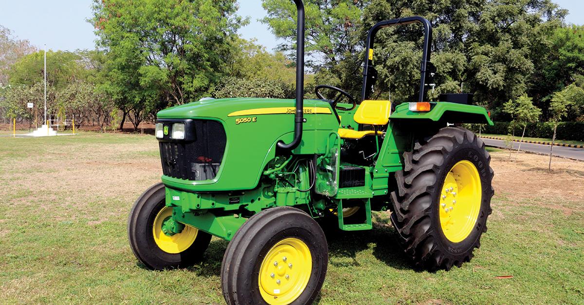 5050E Compact tractor