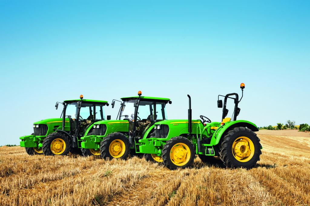 John Deere 5 Series tractor lineup