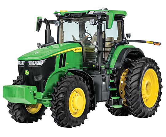 John Deere 7R tractor