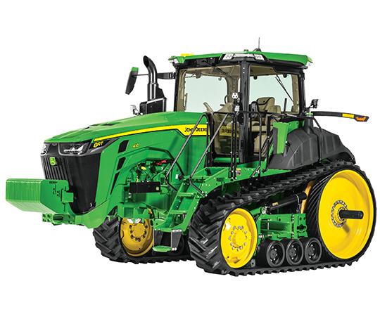 John Deere 8RT tractor