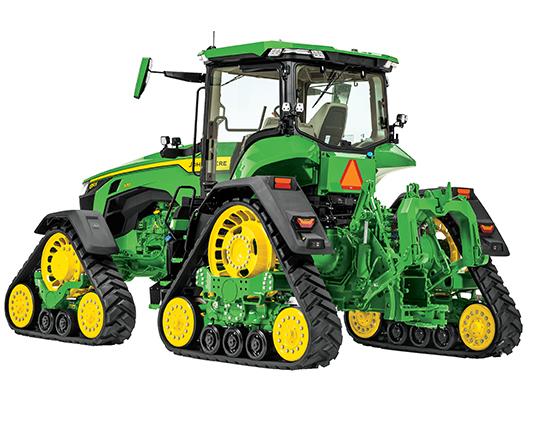 John Deere 8RX tractor